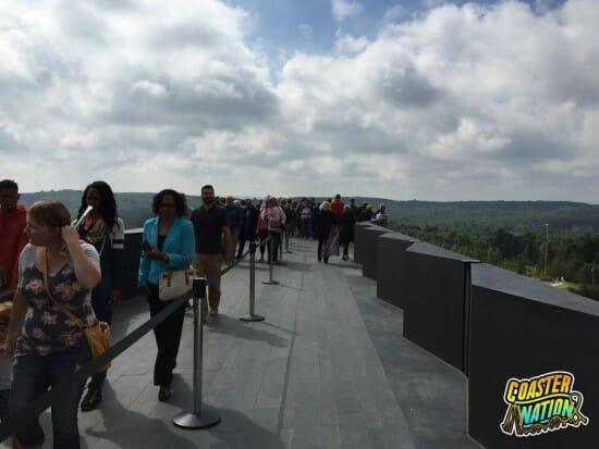 Flight 93 Building Line