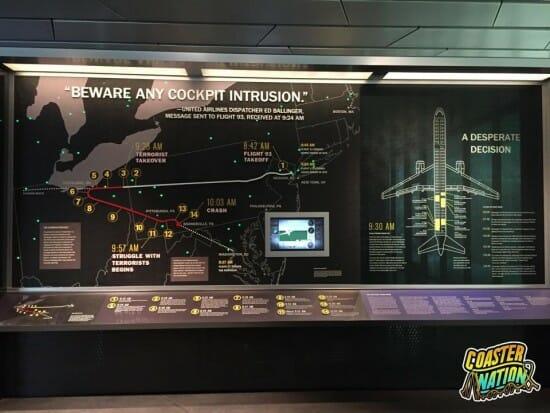 Flight 93 Cockpit Intrusion Sign