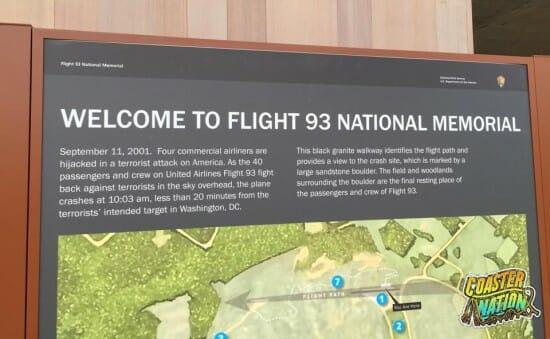 Flight 93 Entrance Sign