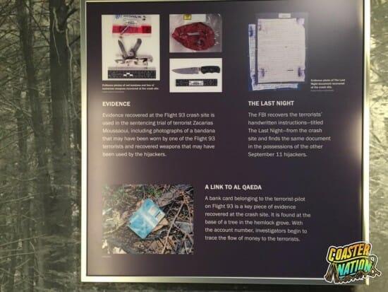 Flight 93 Evidence Sign