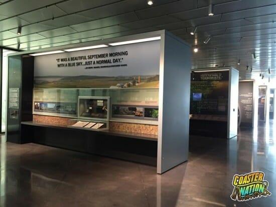 Flight 93 Exhibit Walls