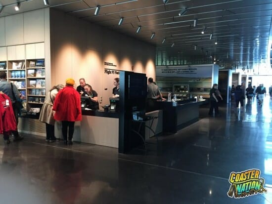Flight 93 Gift Shop Checkout