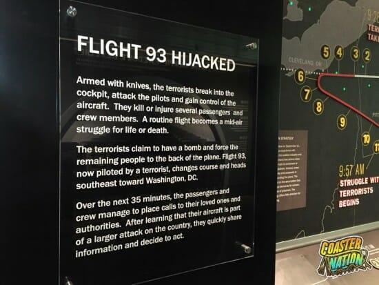 Flight 93 Hijacked Sign