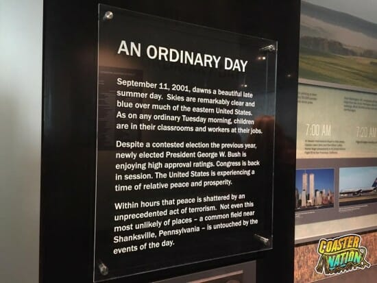 Flight 93 Ordinary Day Sign