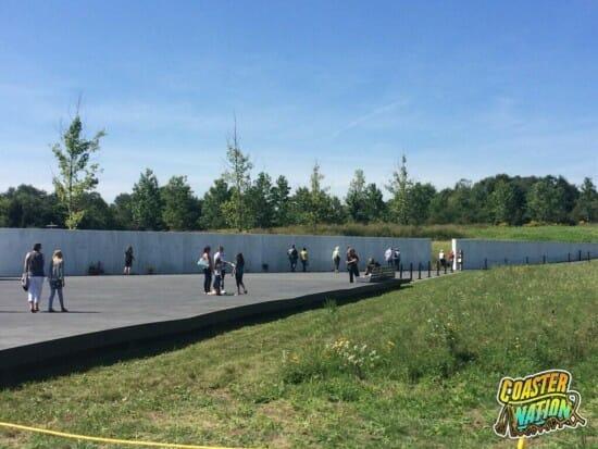 Flight 93 Park Sidewalk II