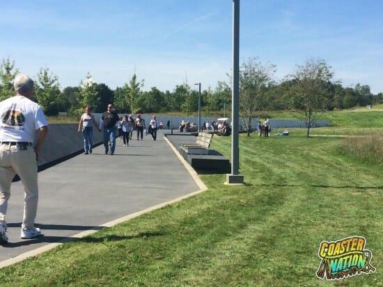 Flight 93 Park Sidewalk