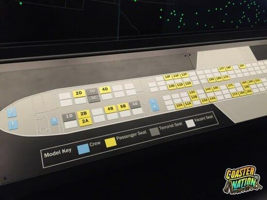 Flight 93 Plane Map III