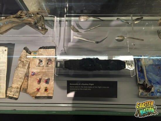 Flight 93 Remnants Display