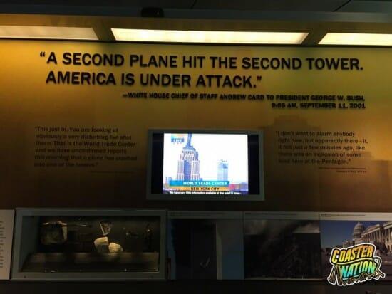 Flight 93 TV Exhibit