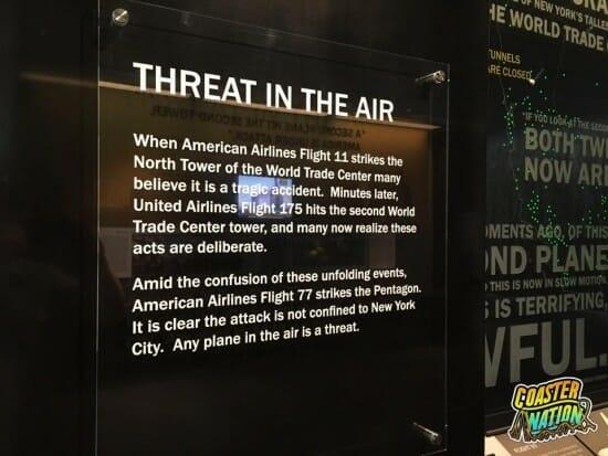Flight 93 Threat Sign