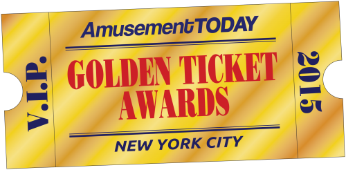 Golden Ticket award 2015