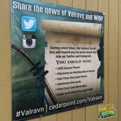 cedar point valravn contest