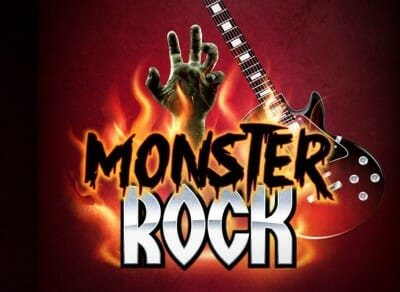 kings island monster rock logo halloween haunt