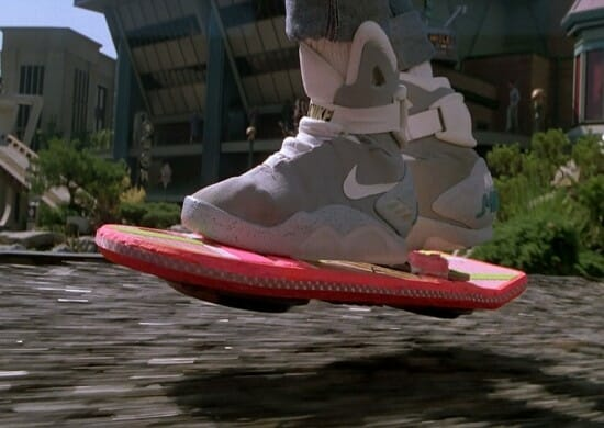 Back to future hoverboard