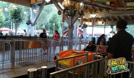 Busch Gardens VA Cars Ride