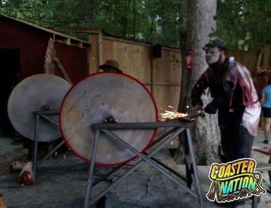 Busch Gardens VA Lumberhack Saw
