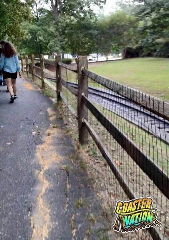 Busch Gardens VA Path To Lumberhack