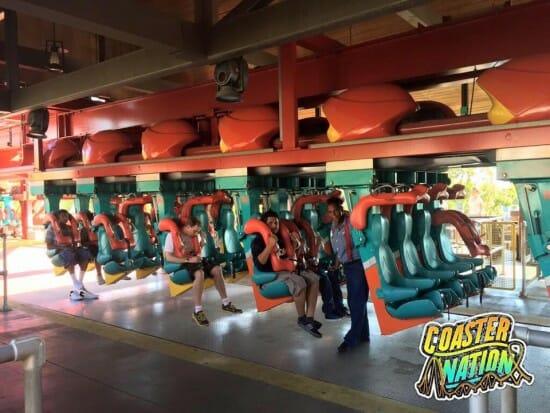 Knotts Scary  Farm Coaster Train