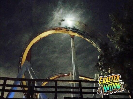 Knotts Scary  Farm Night Coaster