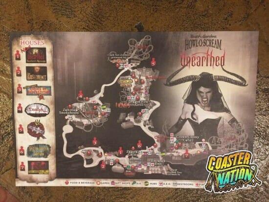 bgt howl o scream map