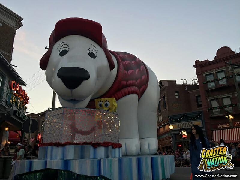 macys holiday parade float dog