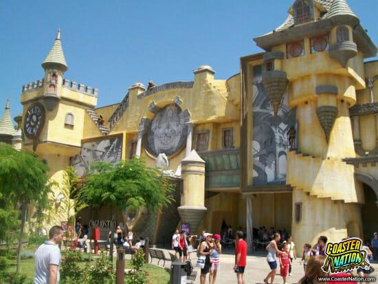 cagliostro facade - rainbow magicland