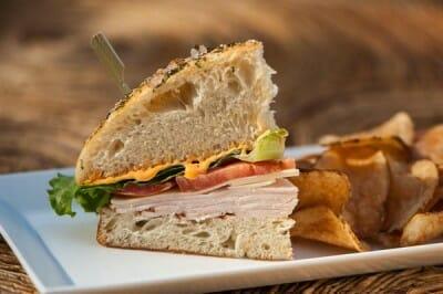 cut sandwich