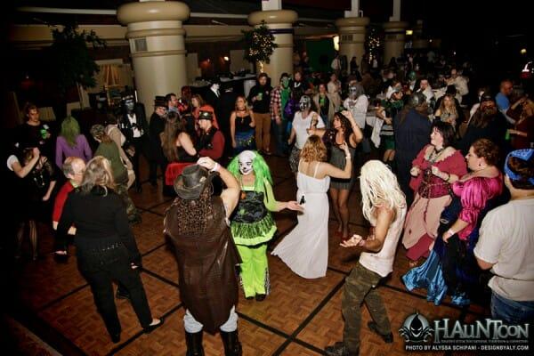 hauntcon dance floor