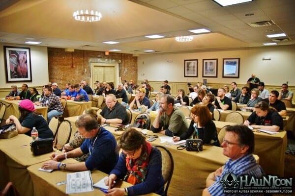 hauntcon seminars learn