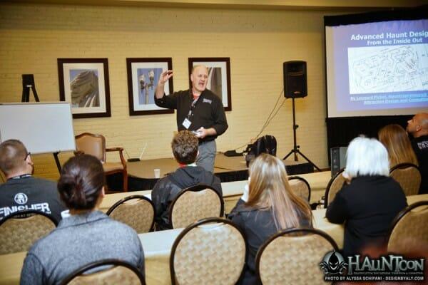 hauntcon seminars teach