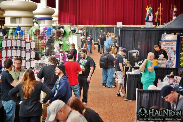 hauntcon show floor 2015