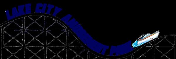 lake city amusement park logo