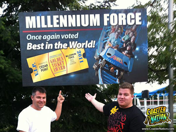 millenium force best in the world