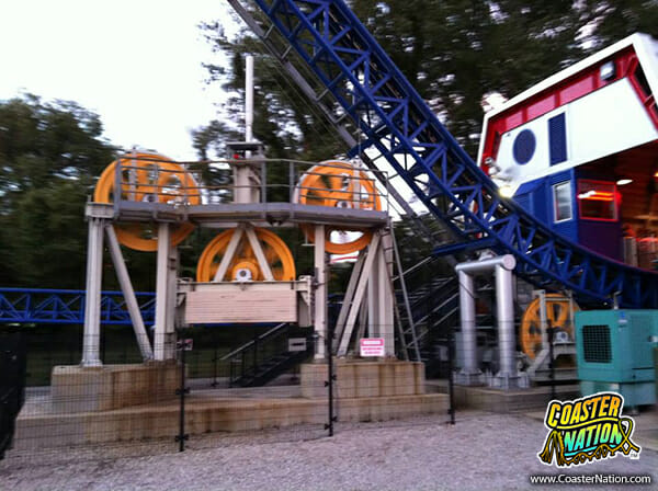 millenium force cable lift hill