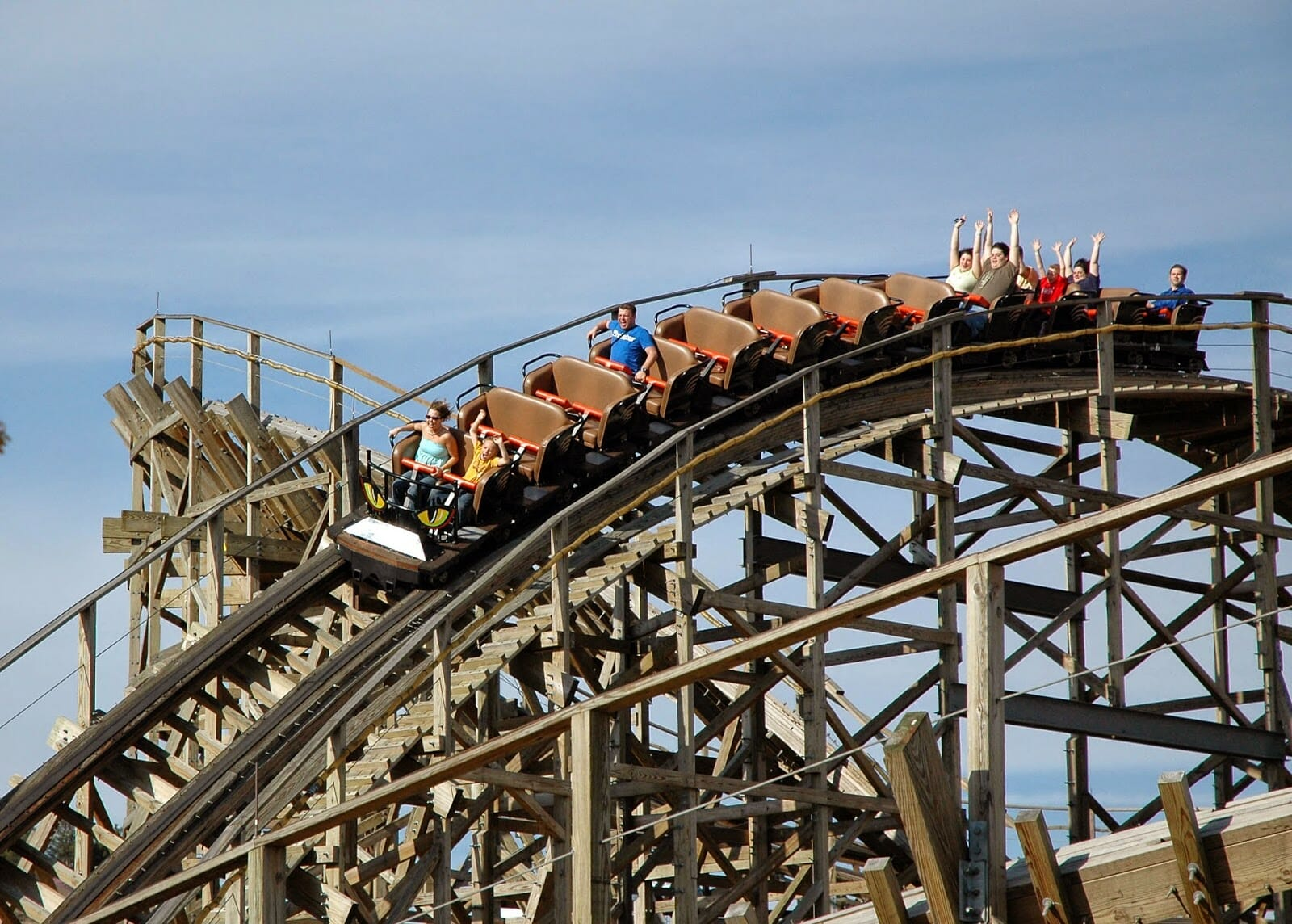 ozark wildcat coaster