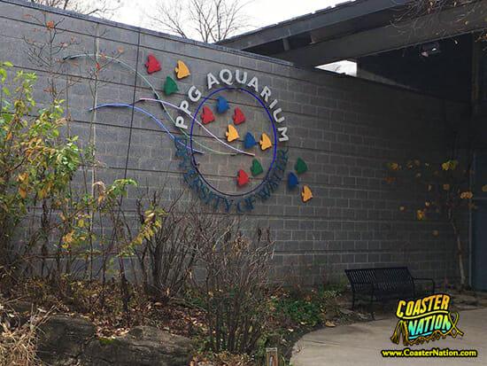 ppg aquarium sign