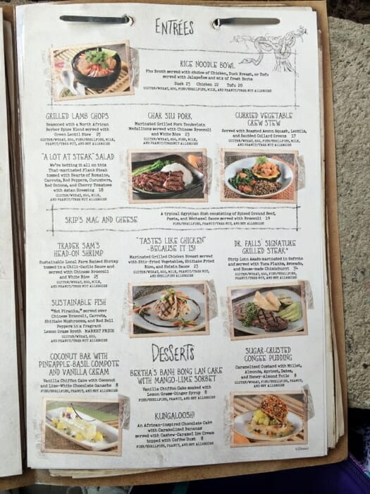 skipper canteen menu 2