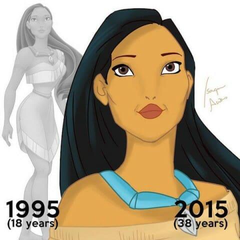 disney princesses Pocahontas