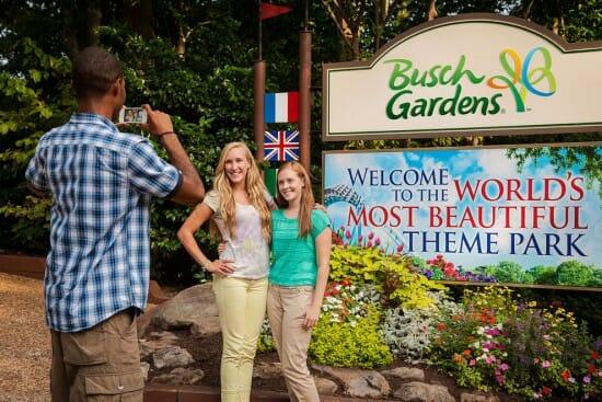 Busch Gardens VA Sign