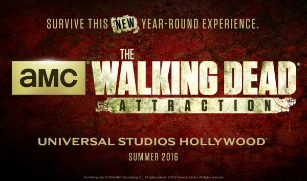 The Walking Dead Attraction is coming to Universal Studios Hollywood