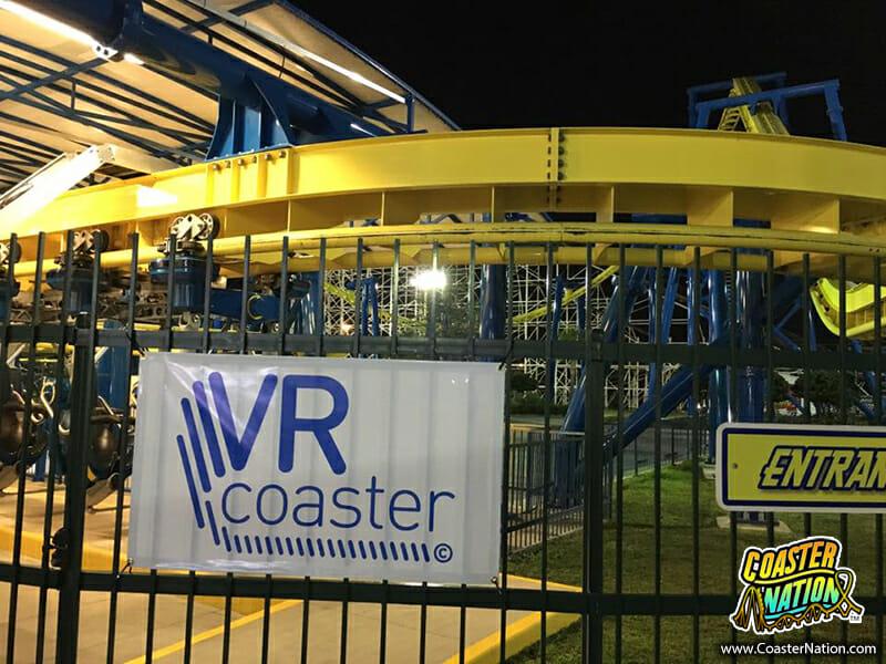VR Coaster demo