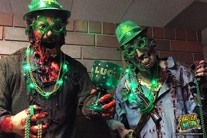 Celebrate St. Patrick's Day at Factory of Terror Haunted House