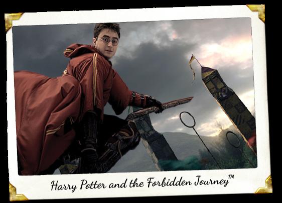 harry potter forbiddon journey hollywood