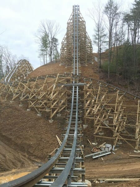 lightning rod construction hill