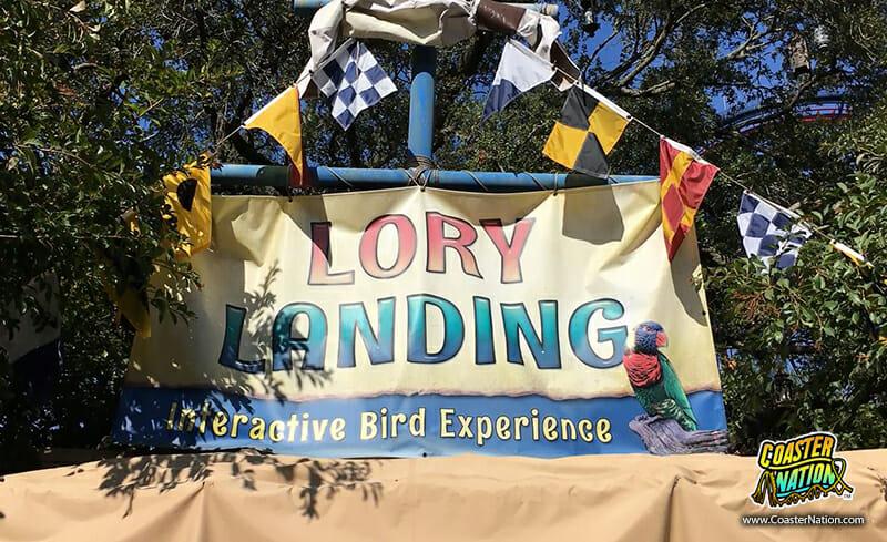 lory landing busch tampa sign
