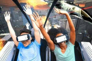 Six Flags Adding VR Technology To Real Roller Coasters!