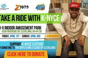 DJ K-NYCE Attempts to Break the Ferris Wheel World Record in Ohio