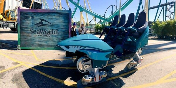 SeaWorld-Mako-Coaster-Train