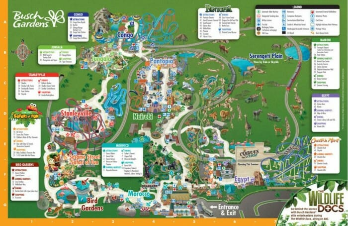 busch map no tidal wave