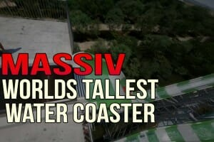Schlitterbahn Reveals Worlds Tallest Water Coaster POV Video